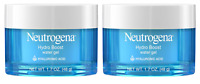 Neutrogena Hydro Boost Water Gel Face Moisturizer, Hyaluronic Gel, 1.7 Oz (2 Pk)