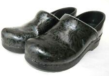 women's DANSKO Leather Shoes Clogs Mules size 38 EUR 7-7.5 US