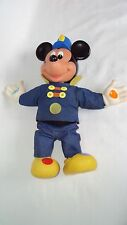 "Mattel Mickey Mouse Musical Band Leader Plush 14"" Doll Toy Vintage 1990 Disney"