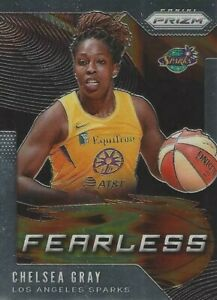2020 WNBA PANINI PRIZM * CHELSEA GRAY * FEARLESS * INSERT CARD #4 SPARKS LV ACES
