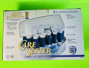Remington Care Setter Velvet Hot Rollers Curlers KF-20n With Instructions