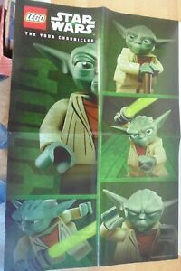 LEGO STAR WARS The YODA Chronicles 2013 Poster May the 4th JEDI