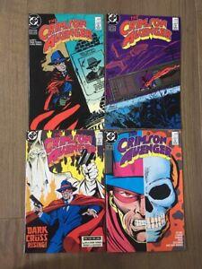 CRIMSON AVENGER COMIC SET # 1-4 DC COMICS 1988 ROY THOMAS