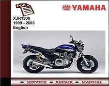 Yamaha XJR1300 XJR 1300 1999 - 2003 Service Repair Workshop Manual