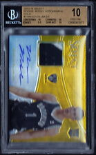 2013 Select Mason Plumlee Auto RC/10 BGS 10 Gold Jersey Patch Autograph 10 *POP1