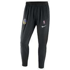 Men's Nike NBA Basketball Golden State Warriors Showtime Pants Black sz 5XL