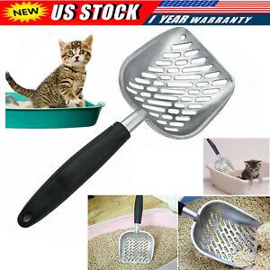 Cat Litter Scoop Sifter Deep Metal Shovel Scooper POO Cleaner Heavy Duty Tool