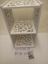 Cube Wall Shelves Floating Display Hollow Square Storage Rack Display Stand Unit