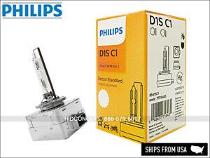 D1S Philips HID Standard OEM Bulb w/ COA label D1S 4300K 85415C1 DOT Pack of 1