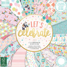 First Edition Lets Celebrate Paper Pad 8x8