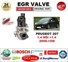 FOR PEUGEOT 207 1.4 HDi +1.4 2006-ON Electric EGR VALVE 5-PIN with GASKET/SEAL