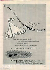 1951 ADVERT Uneeda Doll Dolls Morris Sklarsky Henry Sussman Daniel