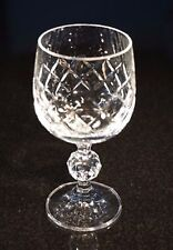 White Glass Wine Glass