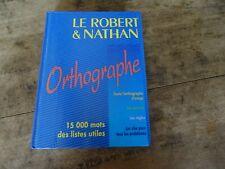 Livre Orthographe