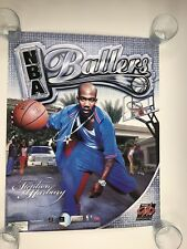 NBA BALLERS XBOX PLAYSTATION  2 PROMOTIONAL POSTER DISPLAY SIGN