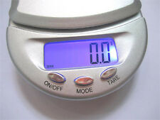 500g 0.1g Digital Commercial Pocket Scale Jewellery Precision Electronic Weight