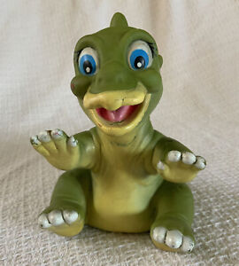 Vtg The Land Before Time DUCKY Dinosaur Hand Puppet 1988 Pizza Hut Toy