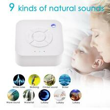 White Noise Sleep Sound Relaxing Machine Helper 9 Nature Music Sounds Therapy