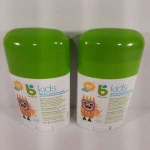 Babyganics Kids SPF50+ Sunscreen Stick 1.6oz Ex 02/2022 (Lot of 2) New*Free Ship