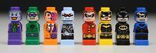 Lego Super Heroes 50003 - Complete 8 Microfig Batman Joker Robin Minifigure New