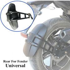 PVC Black Motorcycle Rear Wheel Fender Mudguard Protector Frame Splash Guard Kit