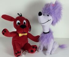 Clifford The Big Red Dog & Chloe Plush Stuffed Toys By Scholastic