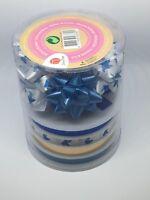 kit ruban nœud de papillon papier cadeau noël anniversaire accessoire fête kraft
