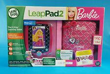 LeapFrog LeapPad2 Explorer Totally Barbie Bundle *Discontinued* Mint Sealed Box