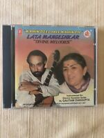 "Gautam Dasgupta, Lata Mangeshkar ""Devine Melodies"" CD, 1991, Super Cassettes Ind"