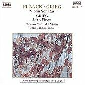 Franck : Violin Sonatas / Grieg: Lyric Pieces, , Audio CD, New, FREE & Fast Deli