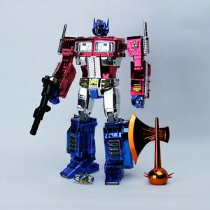 Transformers Masterpiece MP10 electroplate chromed Optimus Prime