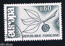 1 FRANCOBOLLO FRANCIA EUROPA CEPT AZZURRO GRIGIO 1965 usato