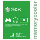 Xbox Live Gold 3 Month Membership for Microsoft Xbox One / Xbox 360 Instant - UK <br/> 24/7 Local Support, Fast Dispatch, Legal & Safe !