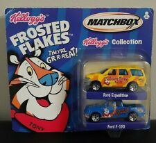 Matchbox Kellogg's Collection 2 Pack Ford Expedition & F-150 Frosted Flakes 2001