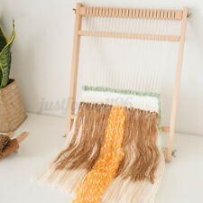 Wooden Tapestry Hand Knitted Machine Stand Diy Woven Set Weaving Loom Kit