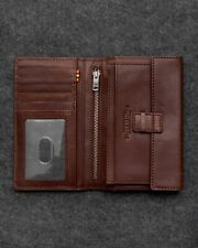 Genuine Italian Leather Mens Jacket Pocket Wallet by Tumble and Hide RRP £55.00