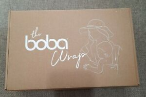 The Boba Wrap Award Winning Baby Wrap Gray Birth To 35 Lbs Brand New In Box