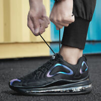 Mens Air Cushion Walking Casual Shoes Running Jogging Gym Sports Sneakers 720