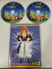 DRAGON BALL GT LA SAGA DE LOS DRAGONES OSCUROS 2 X DVD CAP 57-64 ESPAÑOL JAPONES