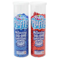 Playfoam Pluffle™ Blue & Red 2-Pack -Pluffle mesmerizing dry and mess-free