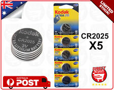 CR2025 3V Lithium Cell Button Battery KODAK ULTRA Watch Camera Battery Bulk x 5