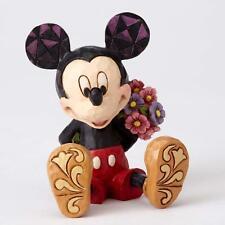 Jim Shore - Mini Mickey Mouse with Flowers - Disney - Enesco 4054284