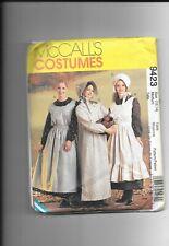 Mccalls  Misses Pioneer -Dress-Apron Bonnet-Pattern 9423 (12-14)