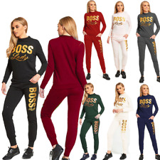 JUSTYOUROUTFIT WOMENS PLUS SIZE  CUSTOMIZED TRACKSUIT BOSSLADY 8 to 26