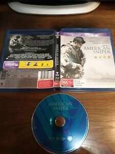 American Sniper 2015 : 1 Disc Blu-Ray Very Good Condition free post see my store