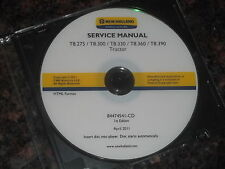 New Holland T8.275 T8.300 T8.330 T8.360 T8390 Tractor Service Repair Book Manual