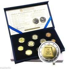 KMS Kursmünzensatz Malta 2015 incl.Sondermünze 1974 Republik mit Münzzeichen