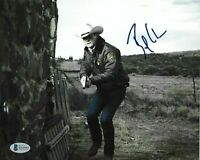 BAILEY CHASE AUTOGRAPHED SIGNED LONGMIRE BRANCH CONNALLY BAS COA 8X10 PHOTO