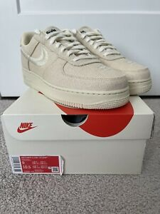 Nike Air Force 1 Low Stussy Fossil CZ9084-200 size 9
