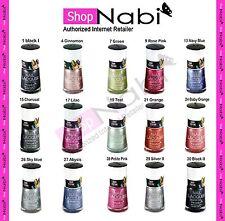 15pcs Texture Nail Polish Sand textured NABI nail polish.